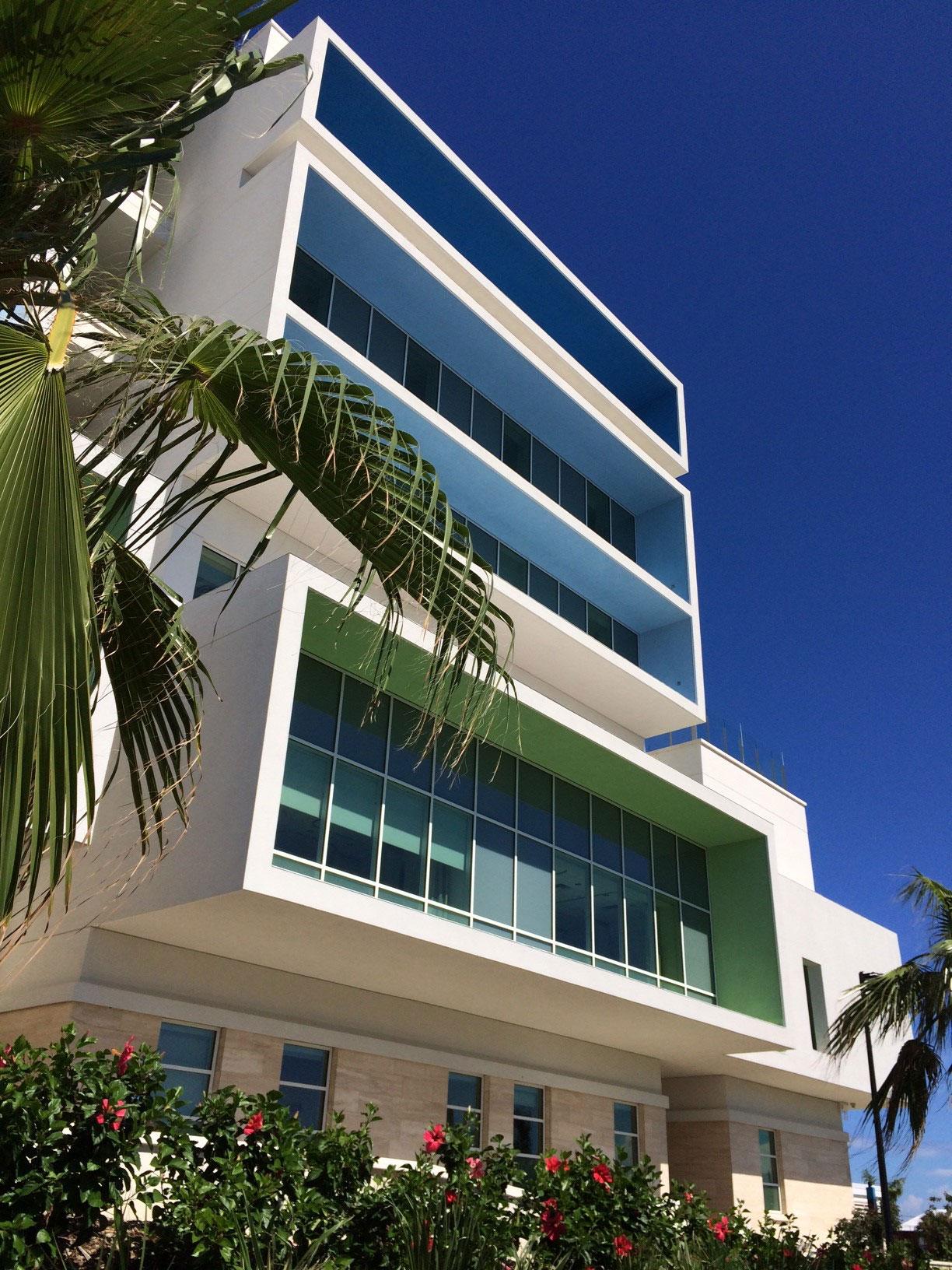 King Edward Memorial Hospital - Completed Facade