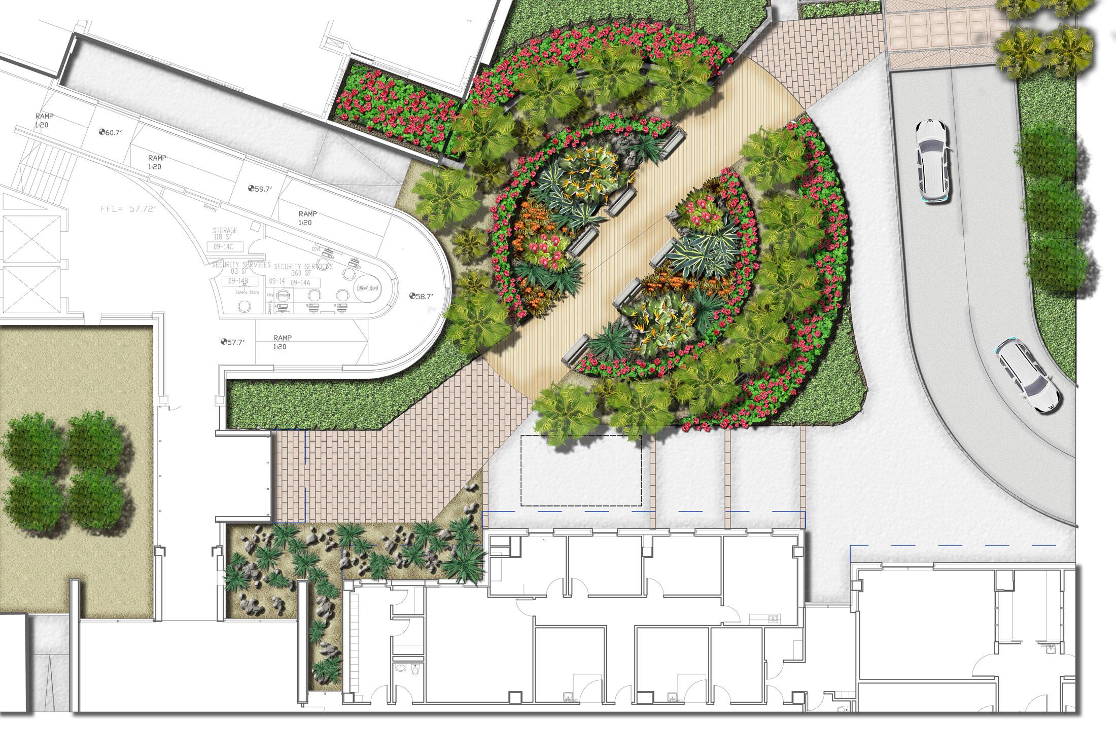 King Edward Memorial Hospital - Healing Garden