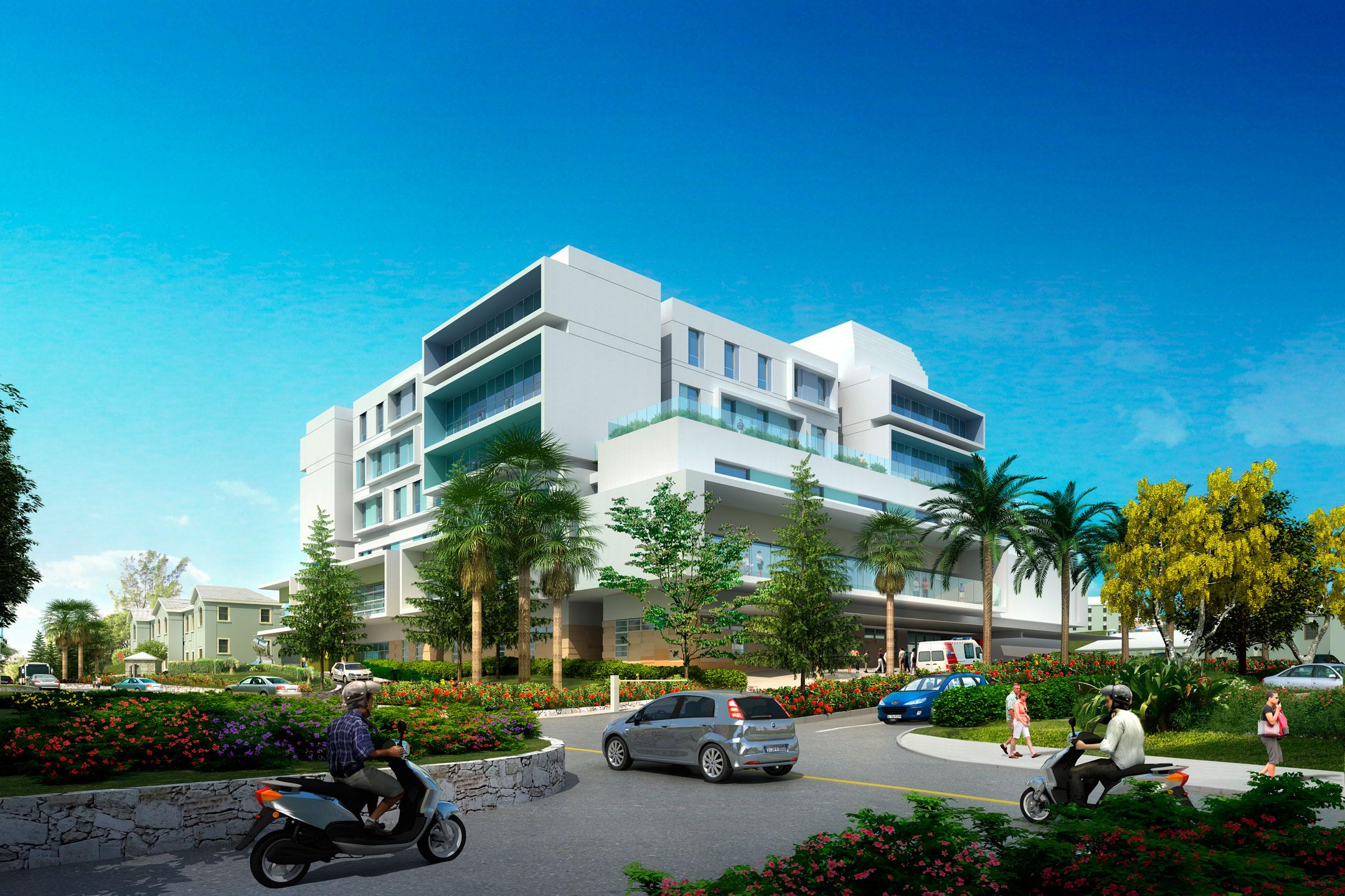 King Edward Memorial Hospital - Streetview