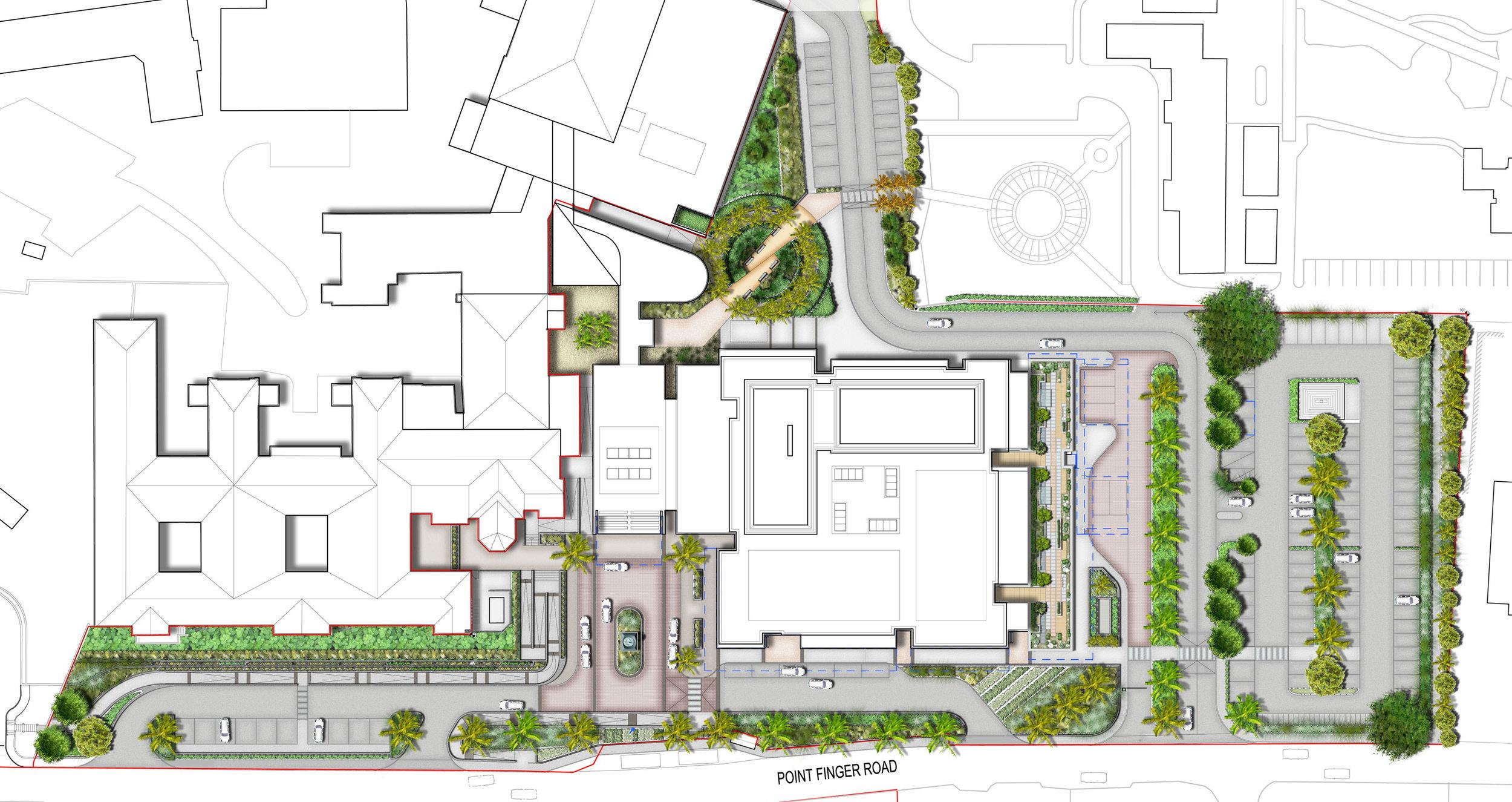 King Edward Memorial Hospital - Masterplan