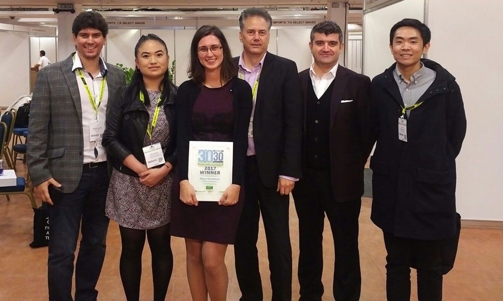 The WA Team at Futurescape 30 Under 30 ceremony on the 14th November