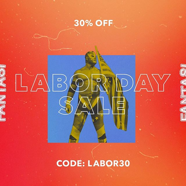 Labor Day sale! 30% off all purchases 🤘🏻Running today till Thursday! Link in bio.