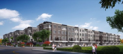 Joy Square Townhomes — The Lux Inc.