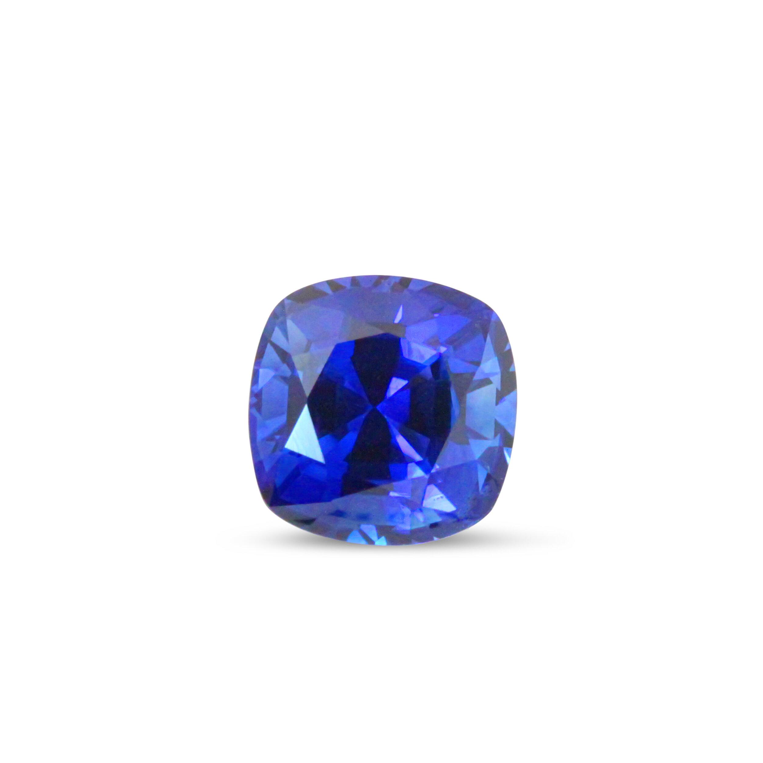 2.50 ct Unheated Ceylon Sapphire, GIA