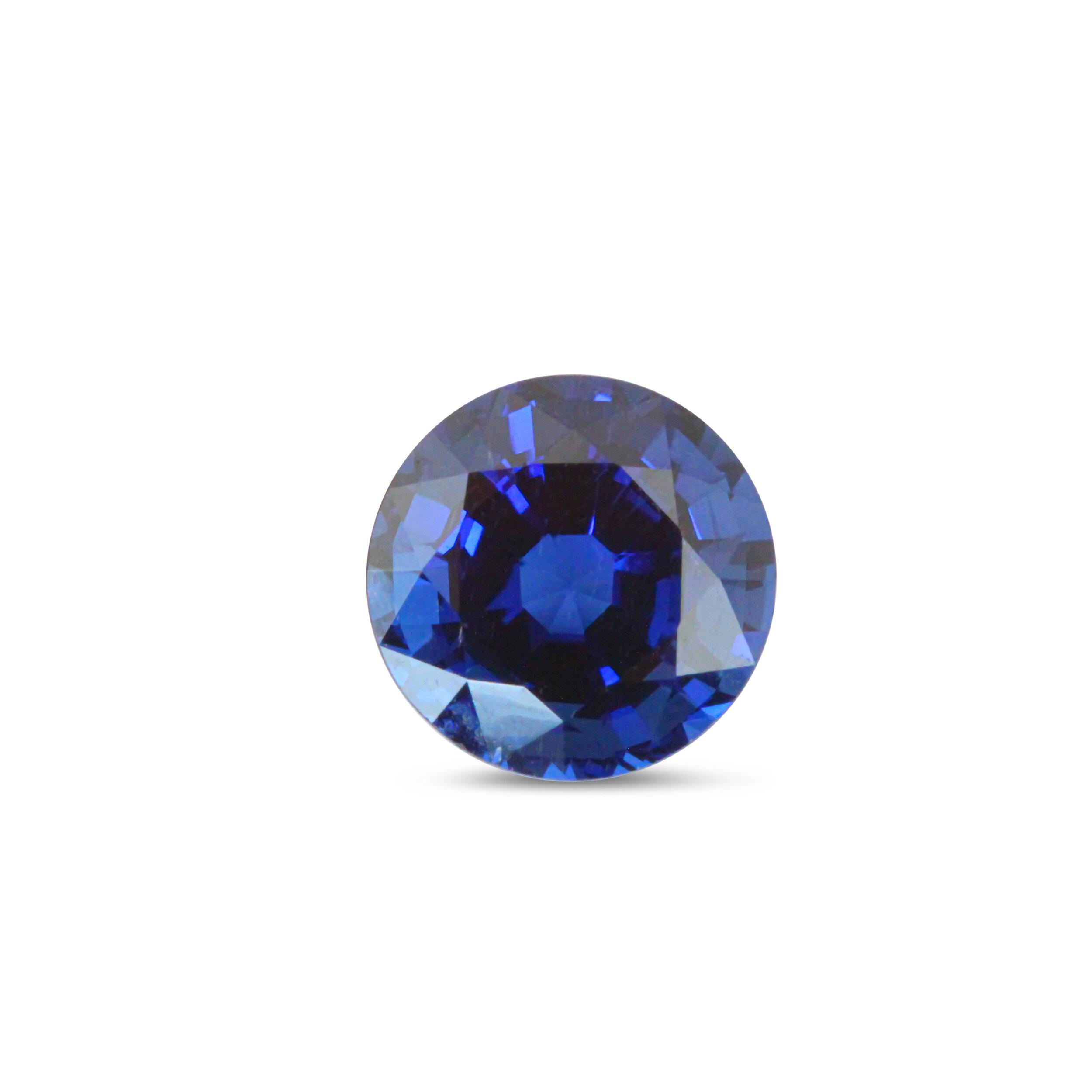 5 ct Unheated Ceylon Sapphire, AGL