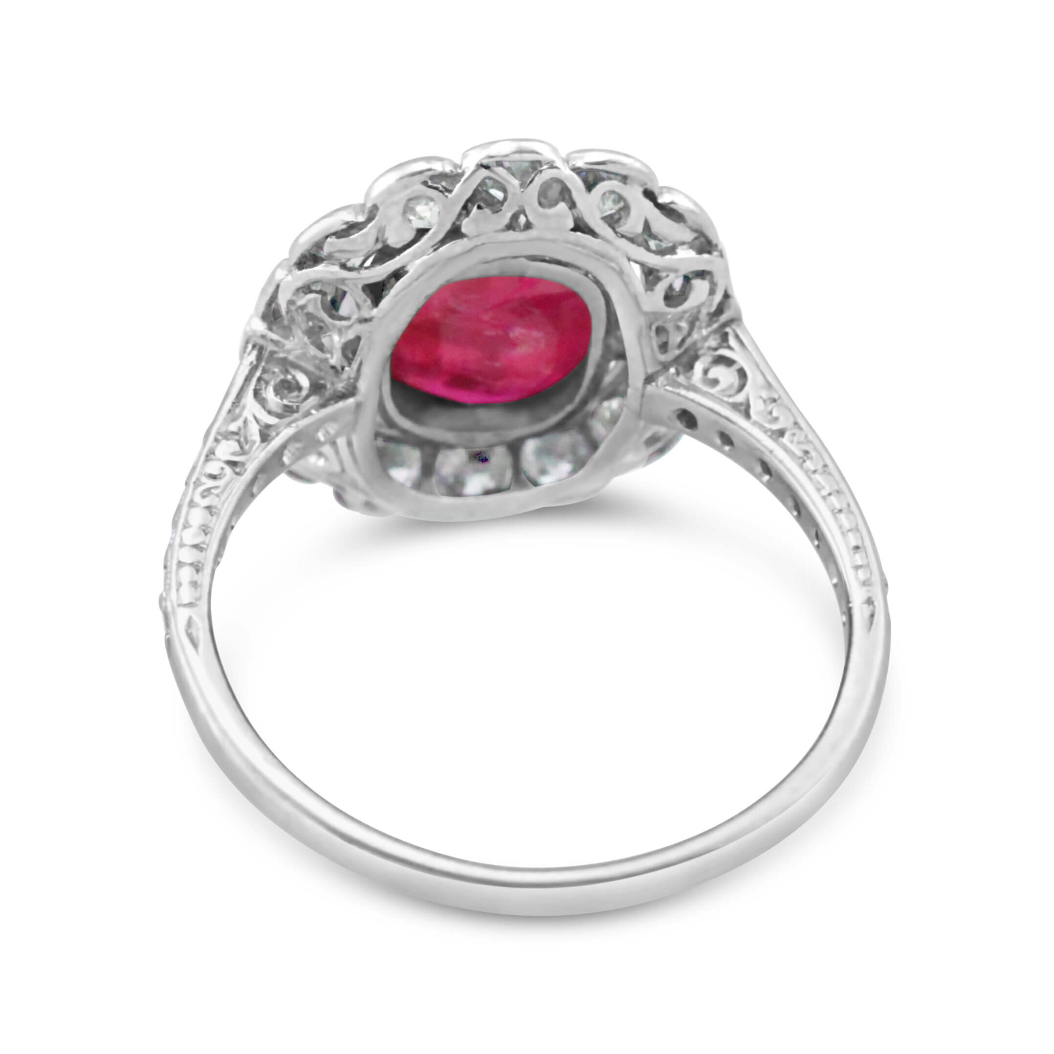 2 ct Unheated Burma Ruby Platinum Ring_back.jpg