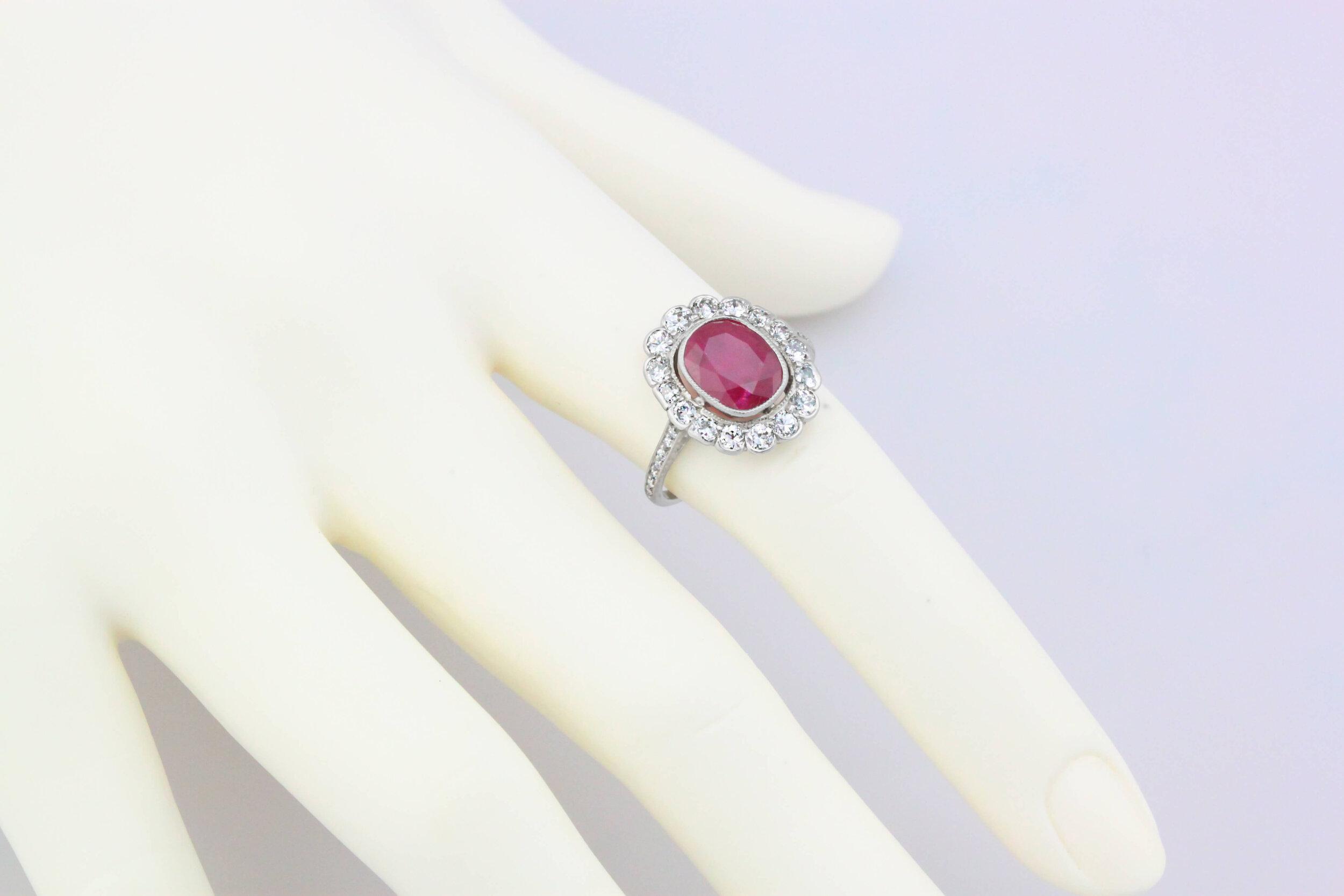 2 ct Unheated Burma Ruby Platinum Ring_hand.jpg