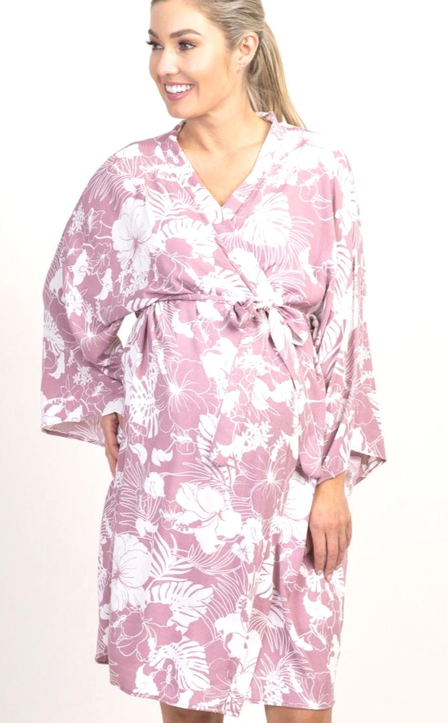 Pink Blush Robe