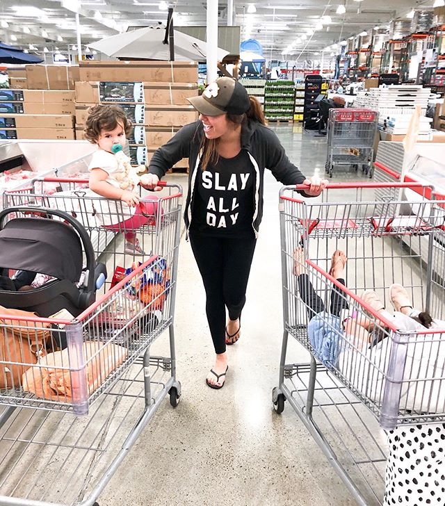 This is our new normal now.... Grocery shopping with two carts... crying babies from all directions... toddler tantrums just because... 7 year old eye rolls and lots of awkward stares from strangers. ⠀ ⠀ This will be fun!!! 🙇🏻‍♀️⠀ .⠀ .⠀ .⠀ .⠀ #mama #motherhoodrising #momsofinstagram #ohheymama #thehappynow #magicofchildhood #mytinymoments #momblogger #mommylife #momtog #mommyblogger #momcommunity #southbayblogger #girlmom #maternity #thebump #baby #newborn #babyessentials #breastfeeding #orangecountymoms #orangecountyblogger