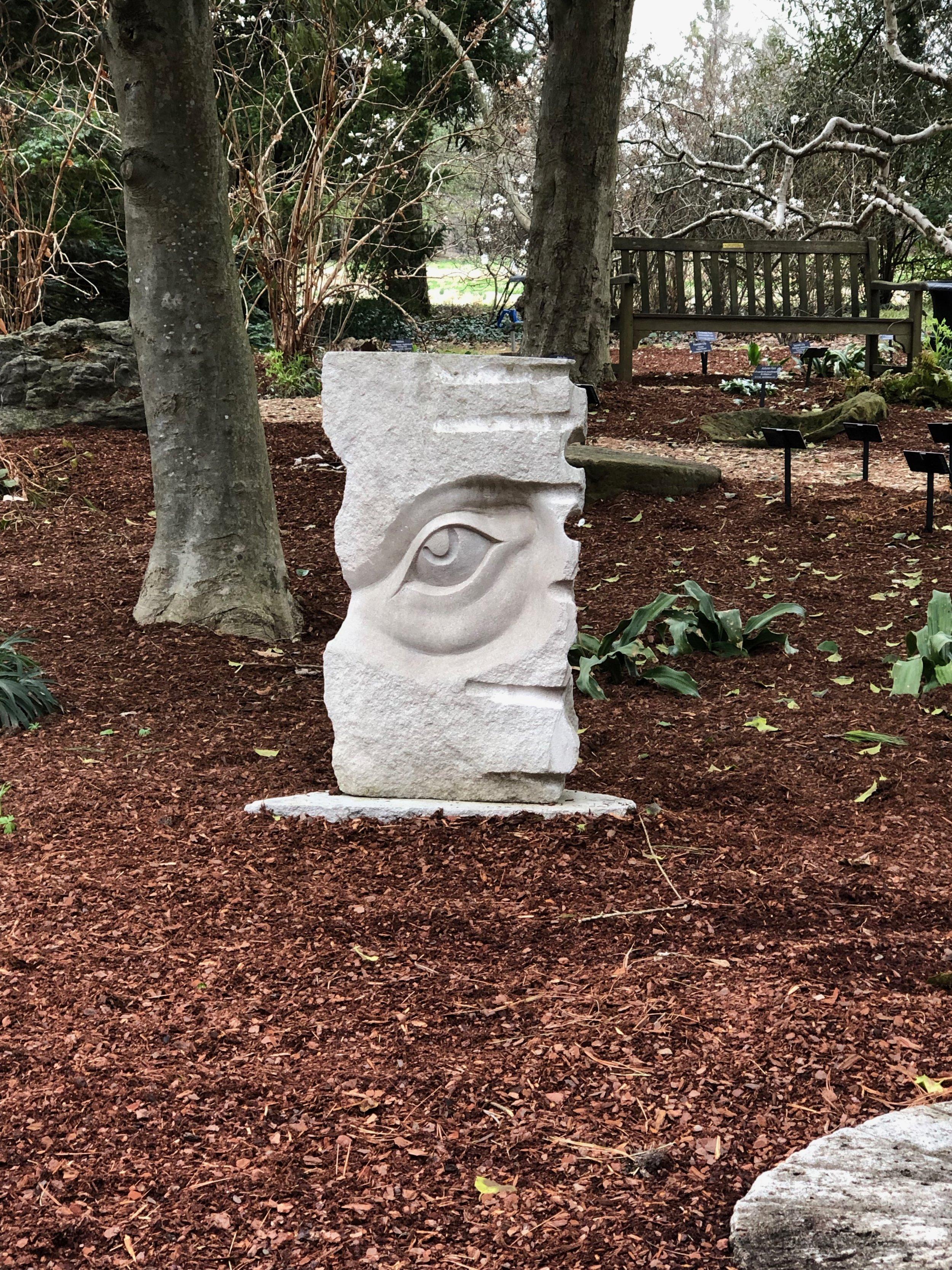 """""""Wisdom"""" Indiana Limestone"""