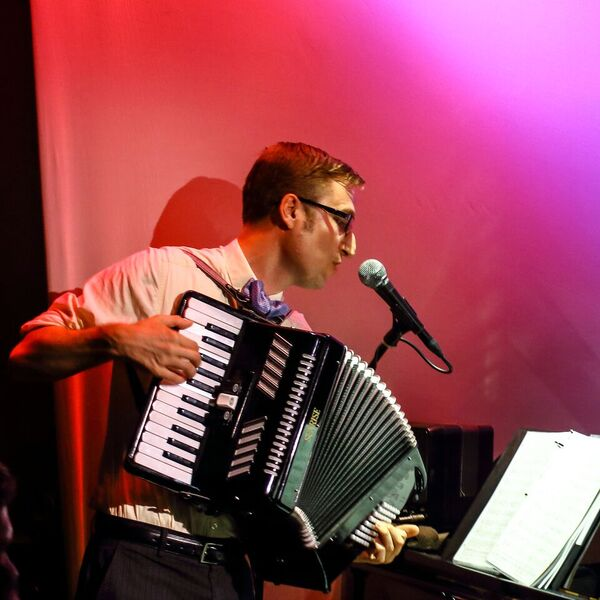 Michael on Accordion