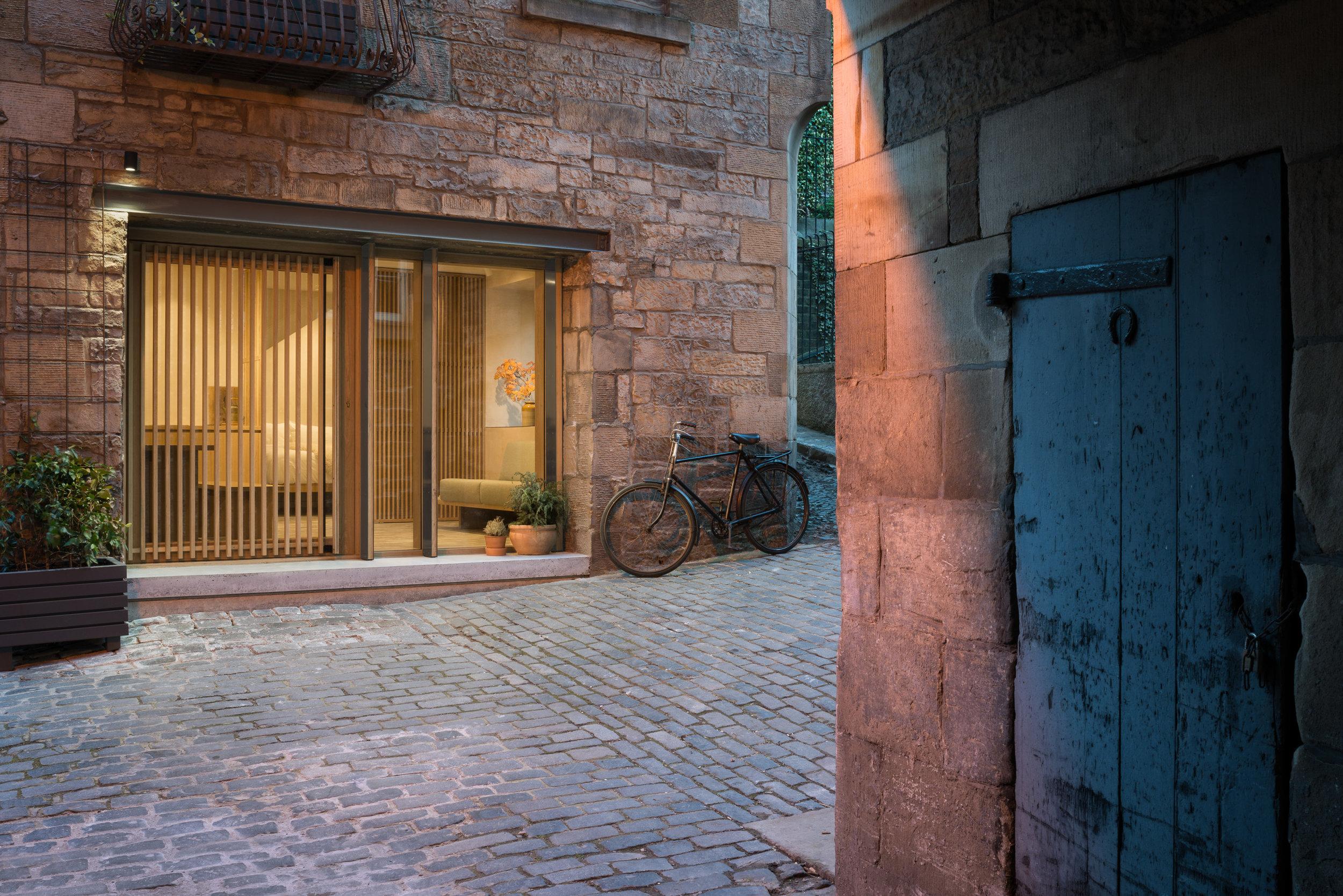 Exterior Horse Shoe Door - Twilight.jpg