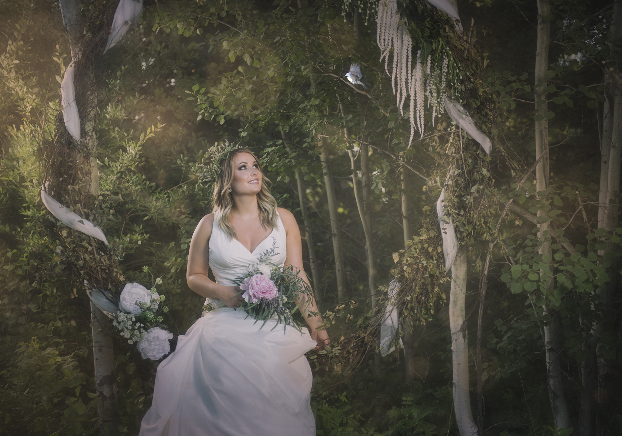 Fairytale Bride at Woodland + Wildflower Weddings