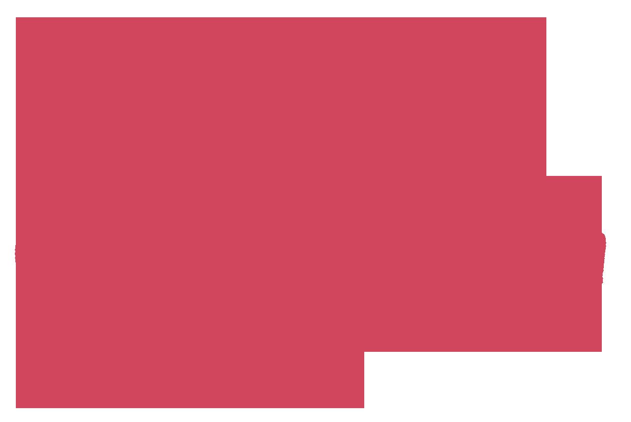 Jaime Hanson Signature Stacked - Pink