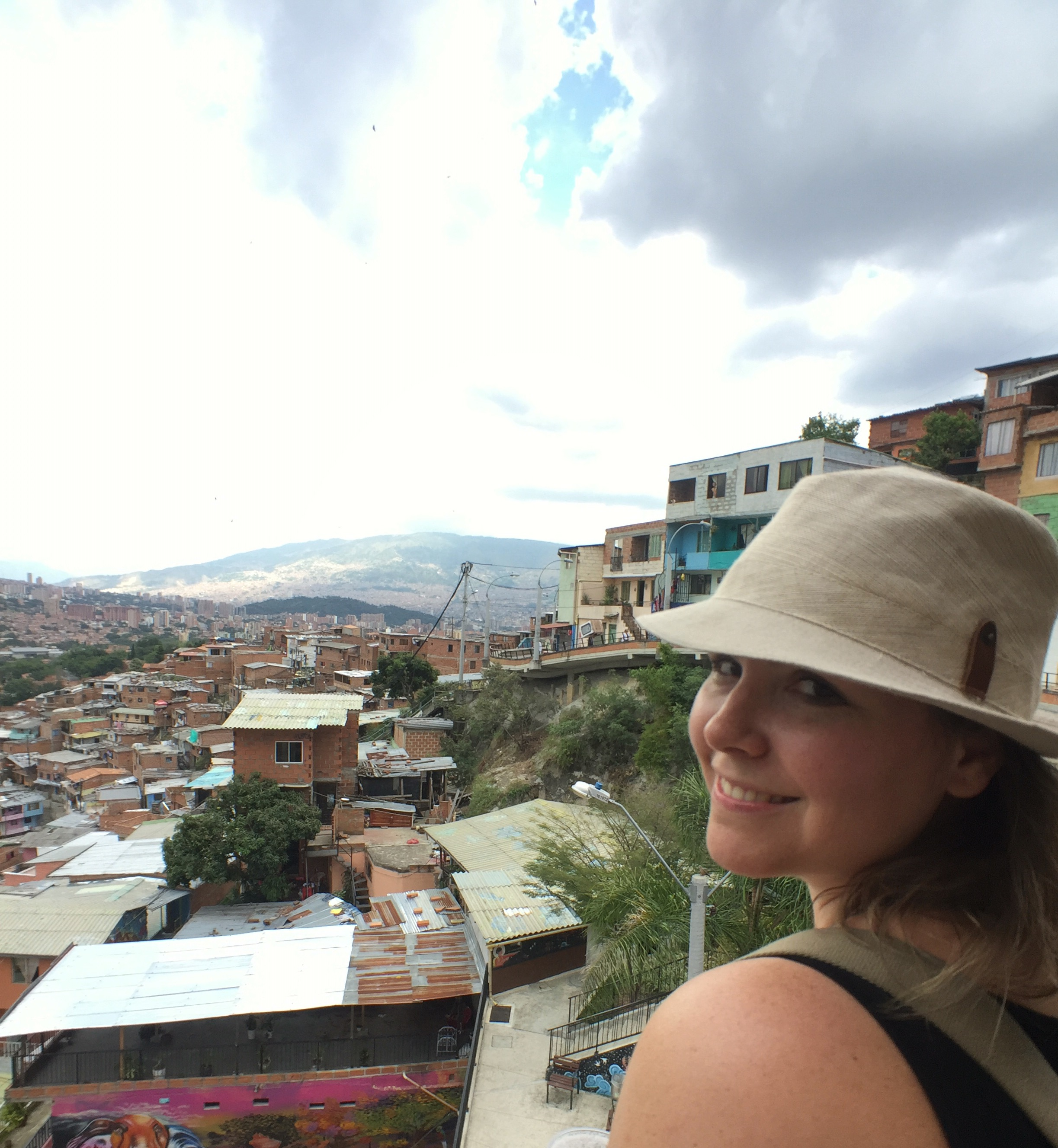 Medellin, Colombia. The view from Comuna 13.
