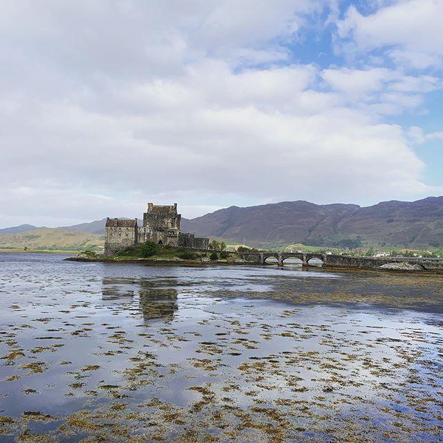Castle on the loch #scotland