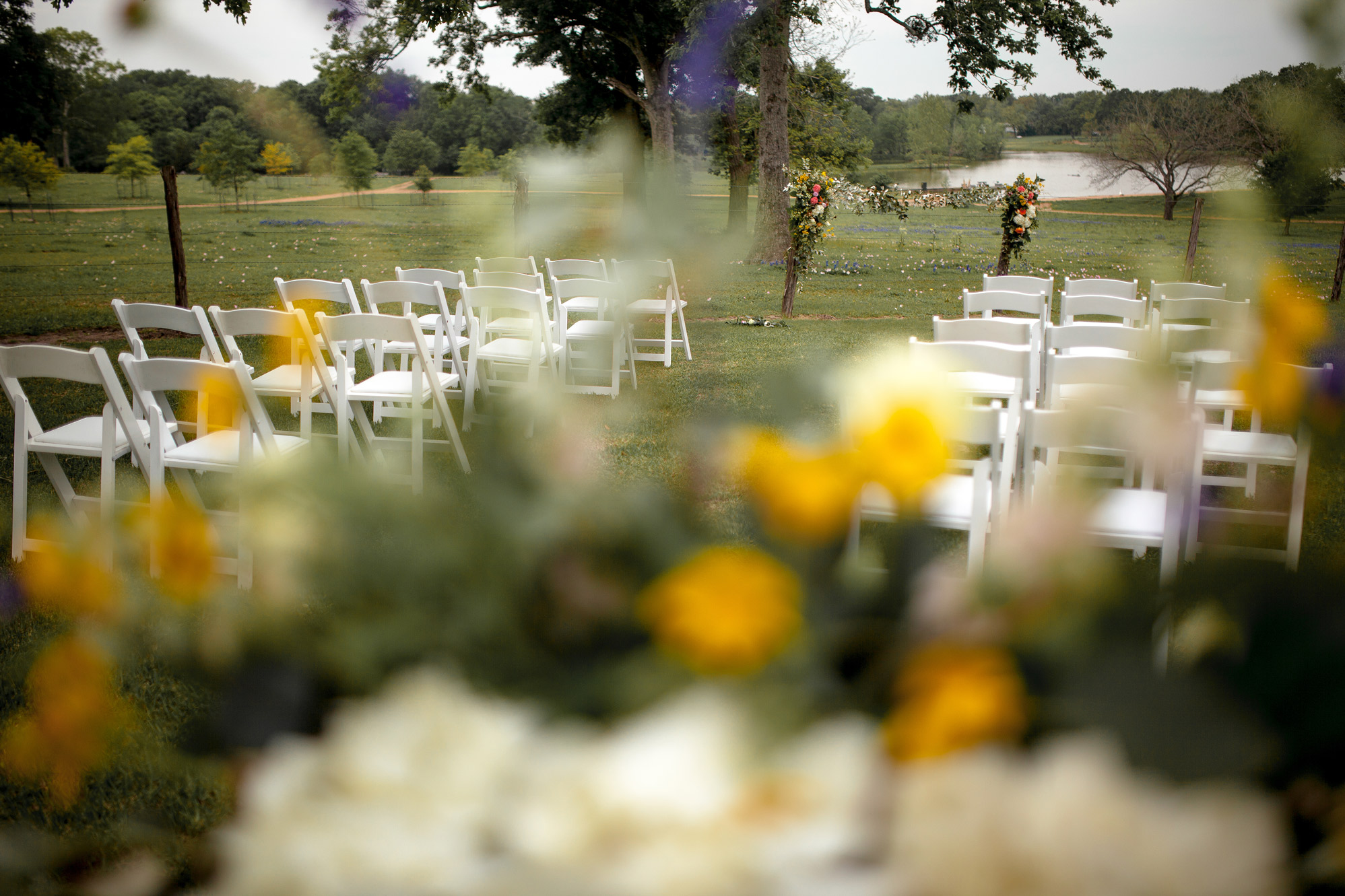 StarHill Farms Pre-Ceremony. Photo Credit:  Gary Blake Photography