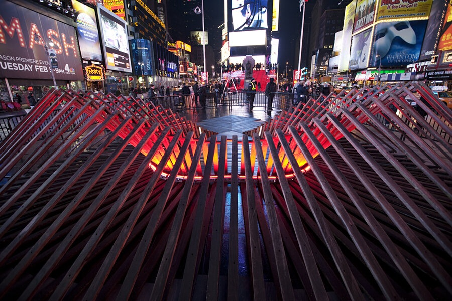 Heartwalk Times Square, New York Eileen Pierce with Renfro Design Group, Inc.  .
