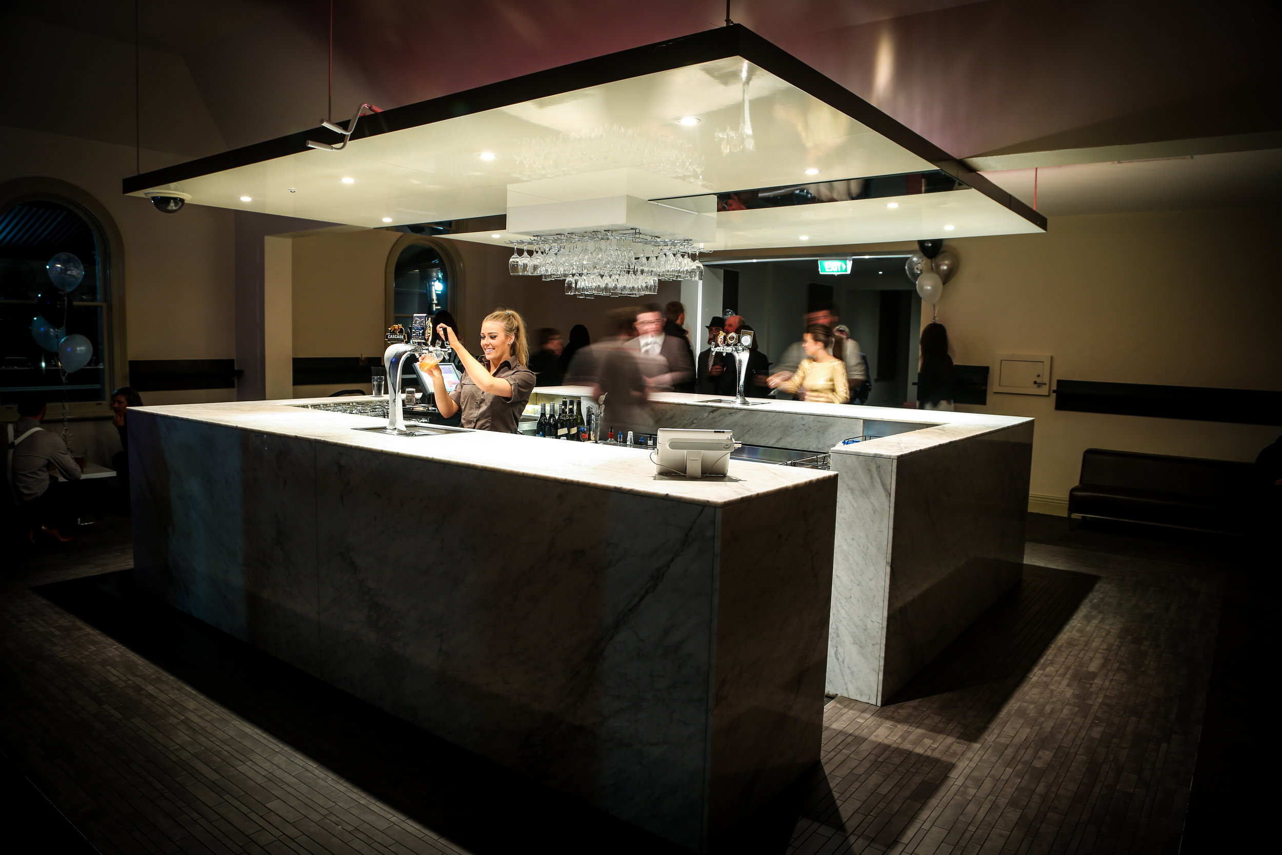 Marble Lounge & Balcony