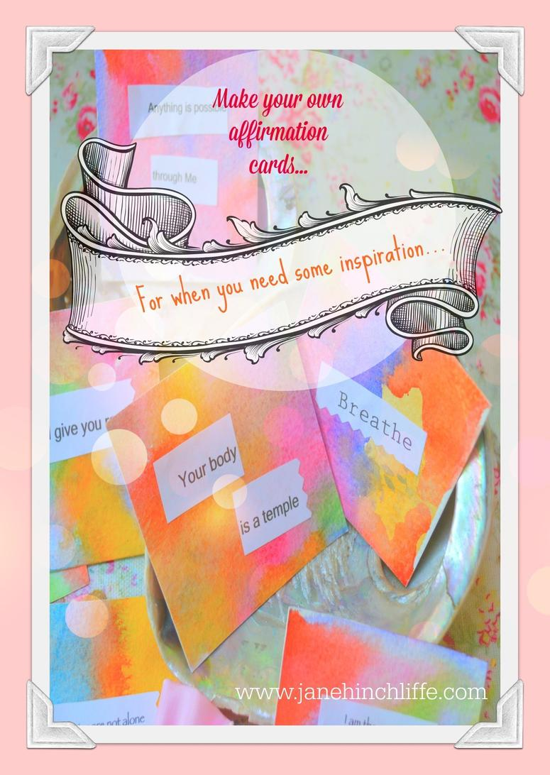 make your own affirmation cards