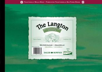 Langton watercolour paper