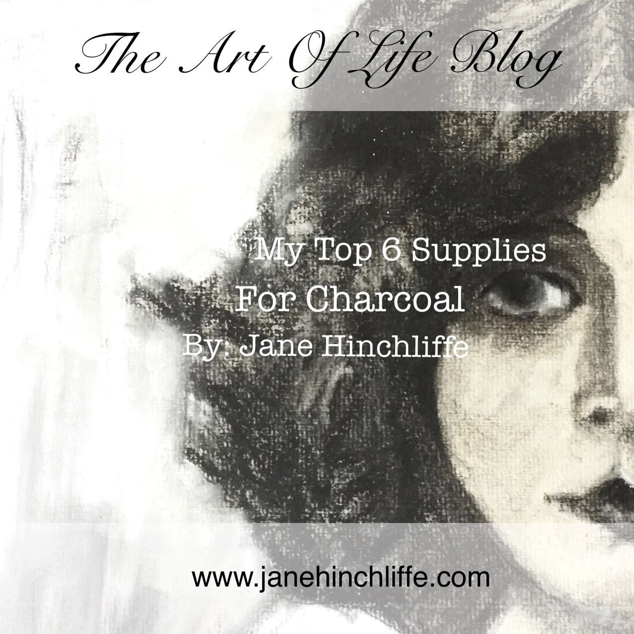 my top 6 supplies for charcoal