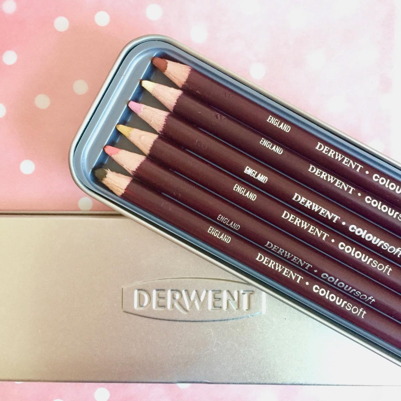 derwent colour soft pencils