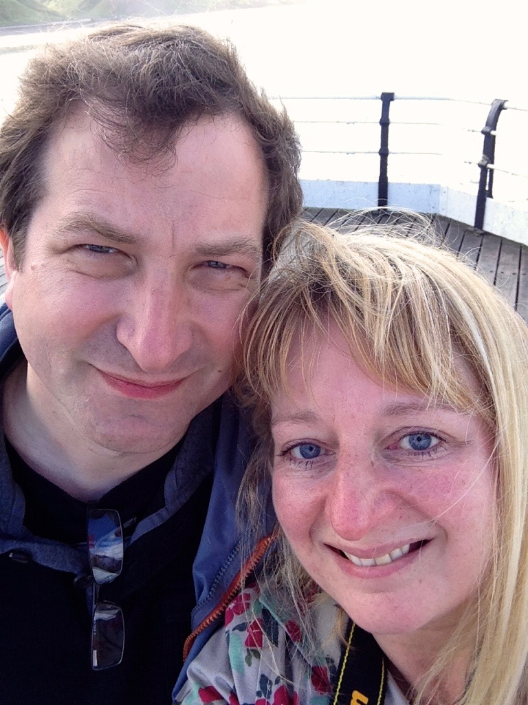My husband, Robert and me from a few years ago