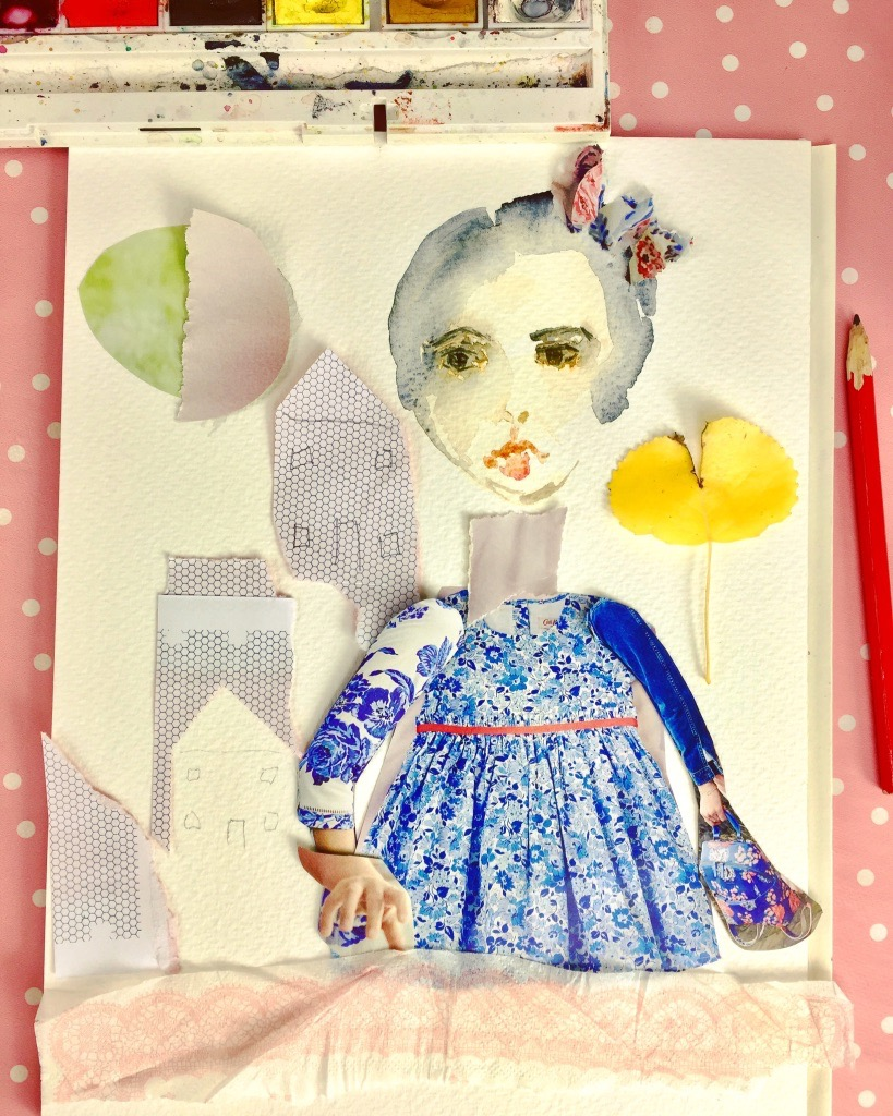 Bonus - Whimsical Paper Collage