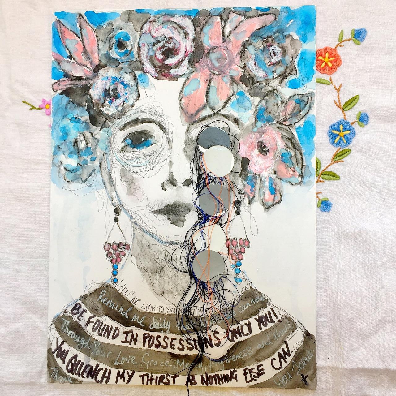 mixed media portrait May, Jane Hinchliffe.jpg