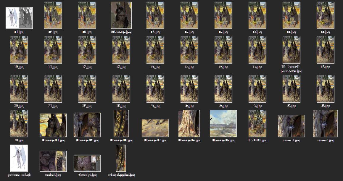 Process Files and Closeups -
