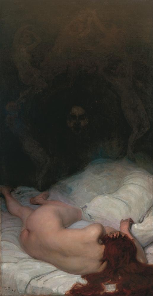 Leo Putz - Vanitas, (1896)