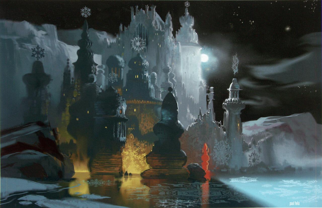 Paul Felix, concept for Snow Queen