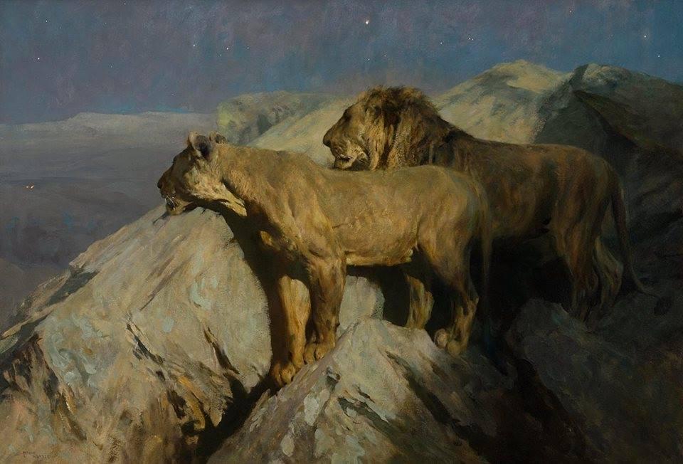 Arthur Wardle (1860–1949), Silent Watchers