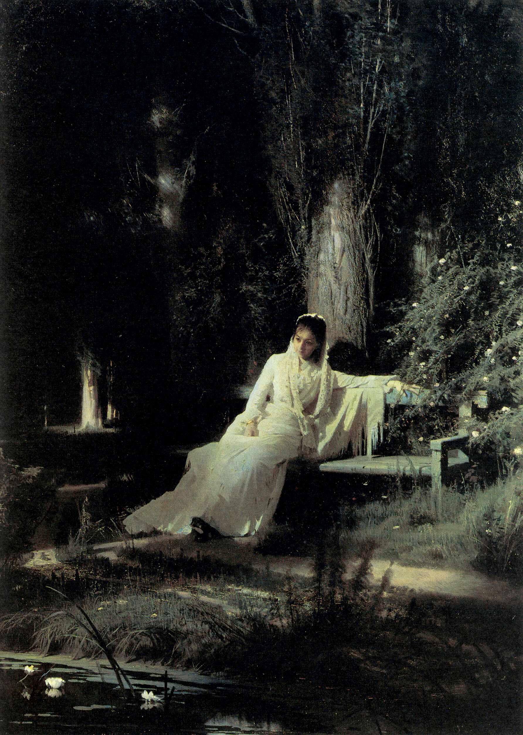 Moonlit Night, 1880 - Ivan Kramskoy