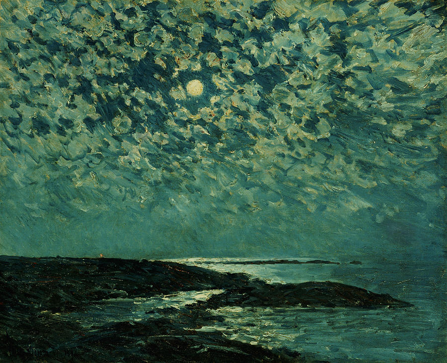 Moonlight, Isle of Shoals by Childe Hassam, 1892