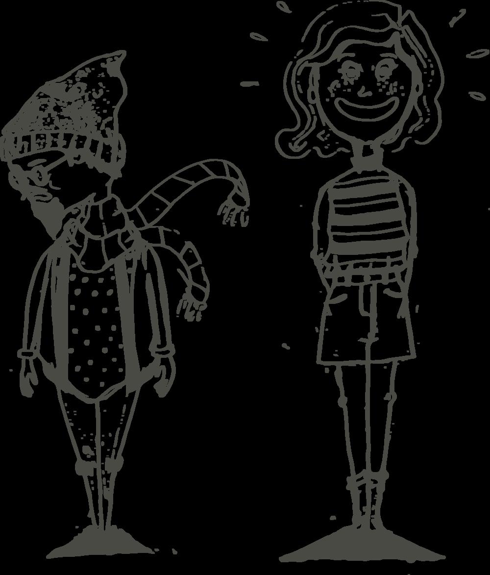 Cartoon Characters Jenna Van Rooy