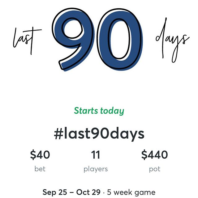 Still time to join! Today starts our warm up week. The pot is up to $440 and goes up with each new person who joins in. 😊 How do you join in? ..... 1. Download StepBet App. 2. Create profile (super easy and fast!) 3. Join game: last90 .... game name is last90 😊 #exercise #weightlossmotivation #wwexercise #stepbetchallenge #stepbet #madeformore #rachelhollis #moveyourbody #last90days #last90dayschallenge #last90dayscommunity #stepbetforweightloss #weightlossjourney