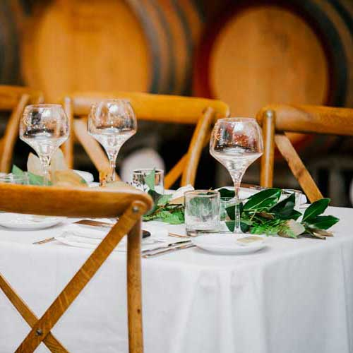 Wooden & wine - The wedding of Amanda and Phil will go down in the Isn't it Lovely history pages.