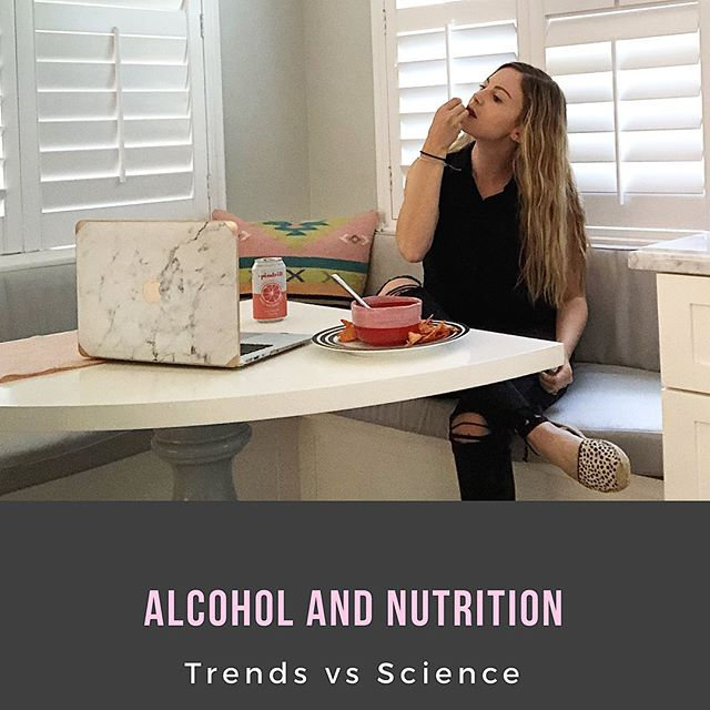 "For every trend that emerges, a counter-trend is soon to follow. #sobercurious is gaining popularity, but is taking an all-or-nothing approach to adult libations necessary? Let's look at the science..... ********* How alcohol is metabolized: ✅ our liver prioritizes the processing of alcohol before anything else. Why is this? Because alcohol contains no macronutrients (fat, carb, protein) which means it has no storage capabilities in the body. ✅ alcohol is detoxified and removed from the blood through oxidation (at a rate of 1/4-1/3 ounce per-hour). ✅ cold shower 🚿 , coffee ☕️, ""sweating it out""— sorry to say these are myths. The only way to eliminate alcohol from our system is time... ************ ✅ ✅ ✅ The biggest issue with alcohol is that when it is being metabolized, it prevents the body from properly absorbing, digesting and using essential nutrients in your body.  Common deficiencies that can result include: ****Vitamin B1, folate, B12, Vitamin A, Calcium, and Protein..... *********** So how much is too much? It depends on a number of factors, but to be safe, I recommend: ✅ Limiting alcohol to social settings, and no more than 2 days out of the week ✅ stay away from mixed drinks most of the time. Special occasions are fine. ✅ exceeding 2 drinks should not be a regular occurrence. ************ So should you give up alcohol completely? Not if you don't have a history of alcohol abuse/addiction. My biggest issue with extreme behaviors is that they remove effort to find joy in moderation. As someone who enjoys wine 🍷 and the occasional mixed drink, I employ the same approach to alcohol as I do to treats...I have a drink if I want one, but not all the time. It is very freeing to give yourself permission to make decisions based on what feels best for you, not what everyone else is doing.  Hopefully understanding the nutritional impact of alcohol will help you approach consumption from an informed place, not a fear-based one...... ******** #health #eeeeeats #healthy #healthyfood #healthylifestyle #wellness #cleaneating #alcohol #moderation #intuitiveeating #balance #balanceddiet #balancedlifestyle #foodblogger"