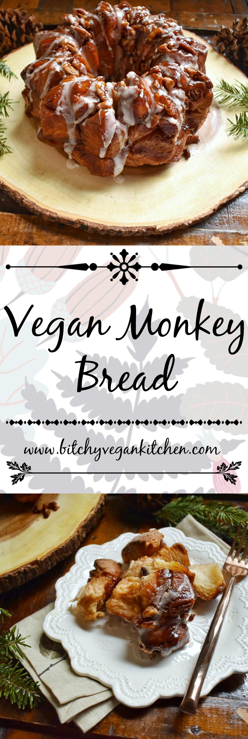Vegan Monkey Bread - The Bitchy Baker