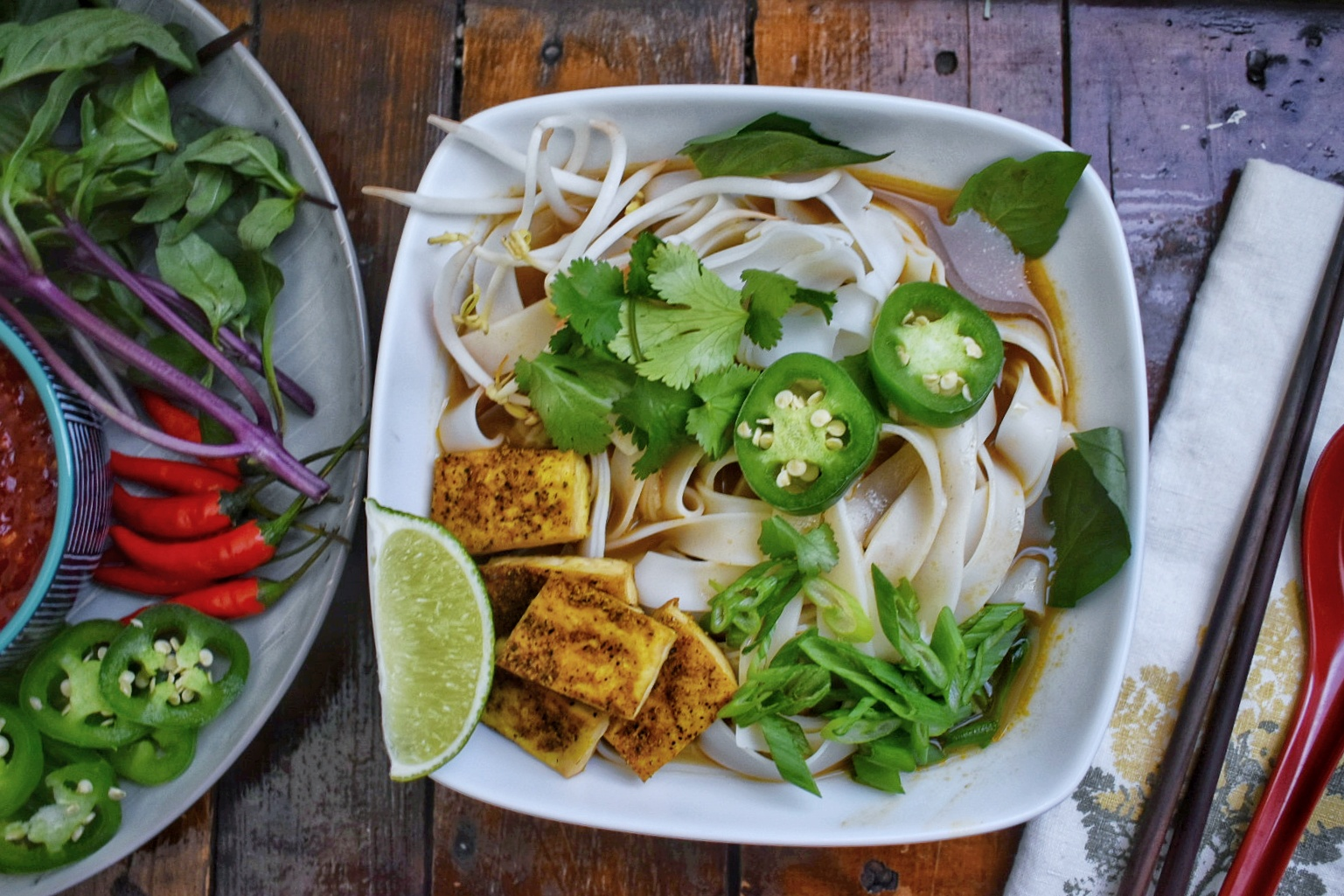 The Best Vegan Pho - The Bitchy Baker