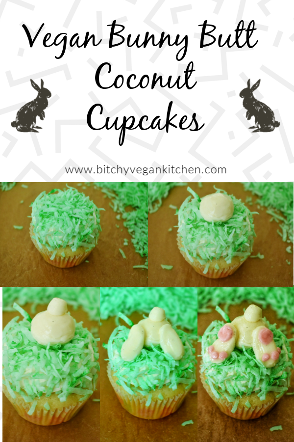These ultra-fluffy coconut cupcakes are the perfect Easter dessert! They come together really easily and require only basic ingredients.