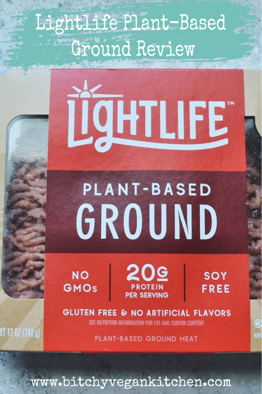 Lightlife Plant-Based Ground Product Review and Recipe Test -  The Bitchy Baker