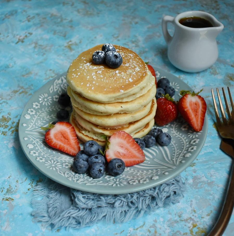 The Best Damn Vegan Pancakes - The Bitchy Baker