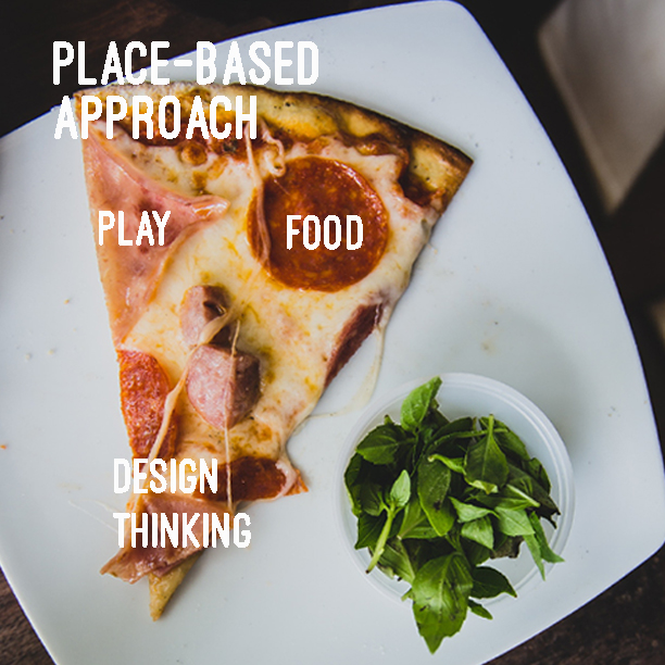 PLACE-BASED APPROACH - We favour place activation centered on design thinking, food, play and place-based approaches design-led placemaking.Approaches include place, storytelling and food based in the community programs to improve multicultural integration, food security, loneliness, and social isolation where ideas, research, synthesise and measure social impact outcomes for better mental health and well being in the built environment are tested.