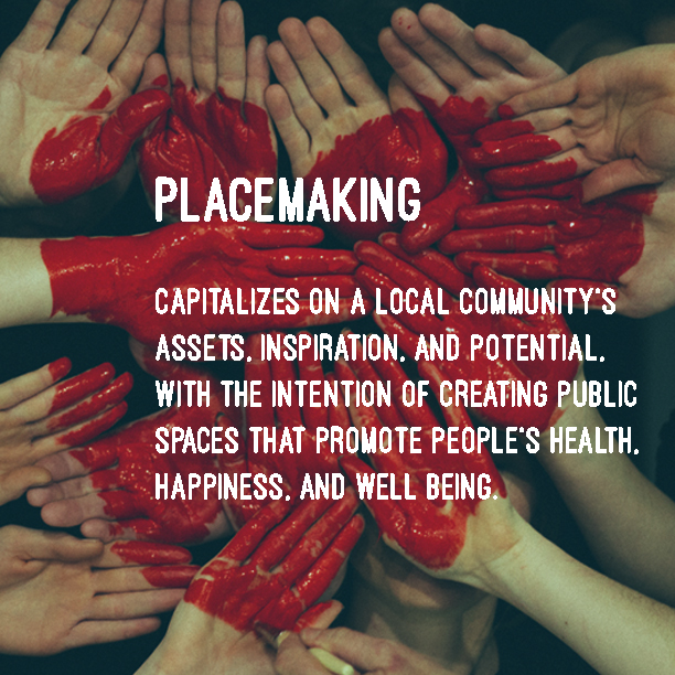 COMMUNITY ENGAGEMENT + SOCIAL CHANGE - We are design-led placemaking agency for the community.Architects, sustainability, property and community engagement experts who believe in leading social change where it matters most: where people live, eat and play.