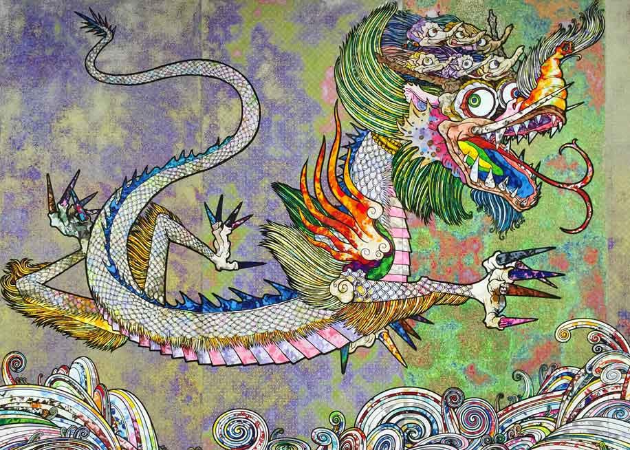 Dragon by Takashi Murakami