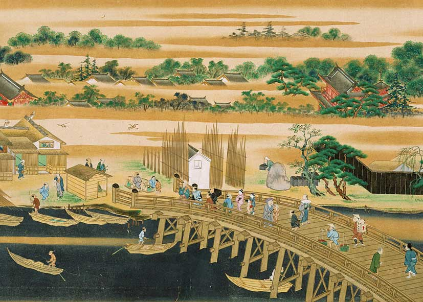 Suntory Museum of Art Tokyo, Famous Sites of the Sumida River