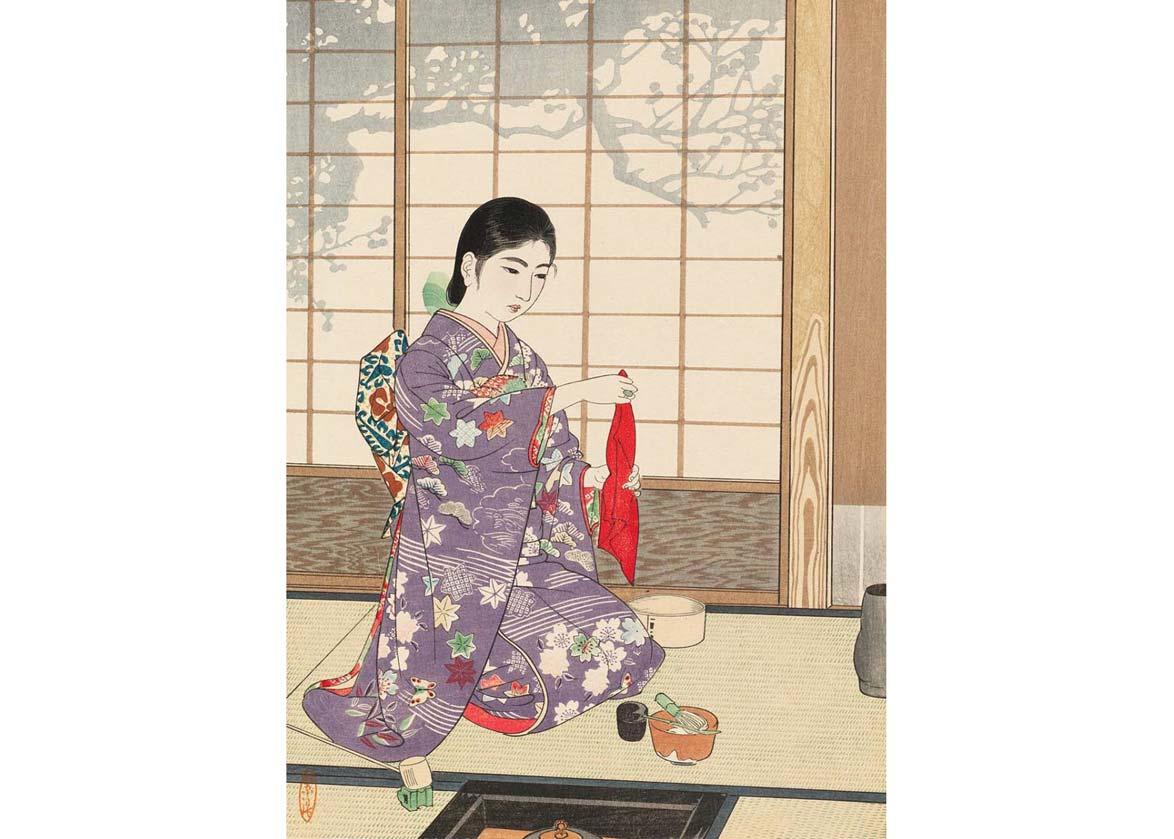 © Museum of Fine Arts, Boston;  mfa.org ; Woodblock Print by Kamatsu Shiro